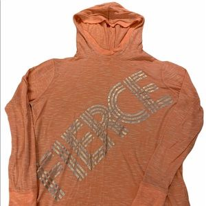Justice Girl's light hoodie - size 14 (xl)